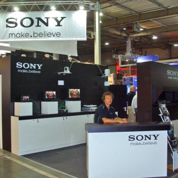 Sony  Kyiv International TV and Radio Fair 2011